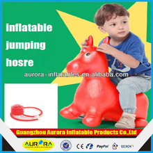 Plastic Riding Toy/Kids Inflatable Horse Jumping