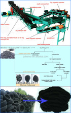Truck And Car Tyre Grinding Machine / Tire Shredding Equipment