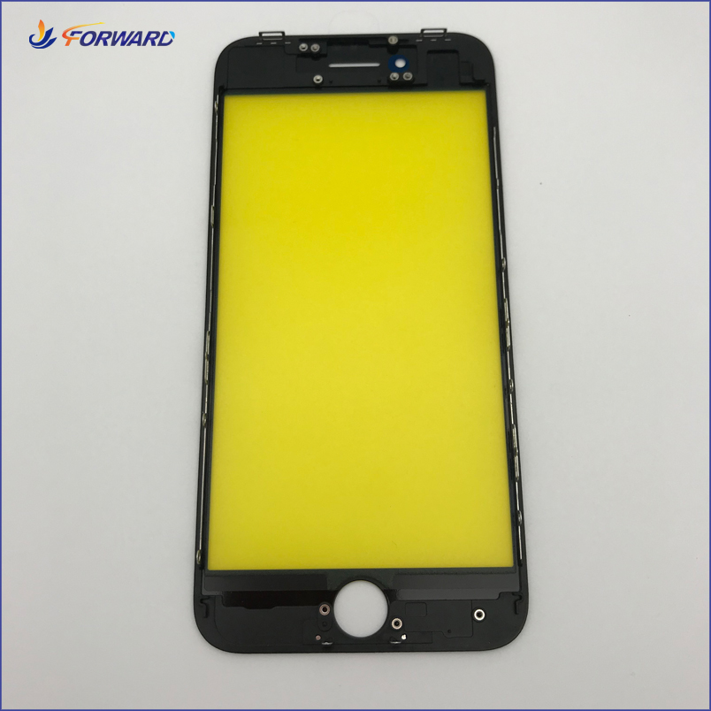 Wholesale For iPhone 8 Original Glass Lens With Frame Cold Glue Press <strong>LCD</strong> Refurbish