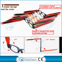 Most popular 360 degrees rotation reading glasses TR90 mini folding reading glasses fashion reading eyewear CE/FDA BR11030