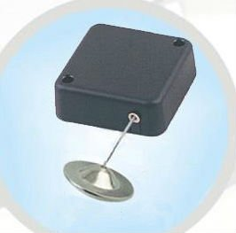anti theft Retractable Pull Box for retail product positioning or secure tools to the display racks