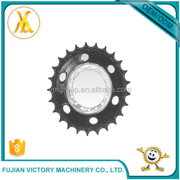 Small Mechanical Parts Dozer Chain And Sprocket For Excavator