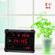 2015 New Design HC-005 Desk Digital Clock With Day And Date