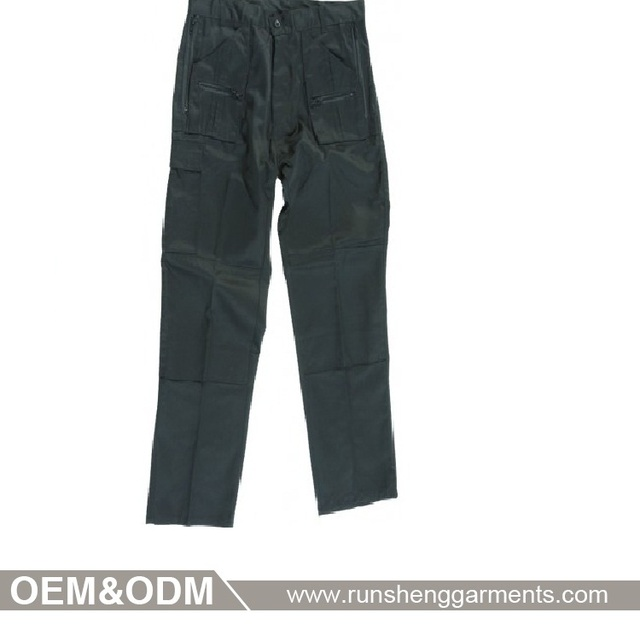 Polycotton man pants industrial colourful man working trousers