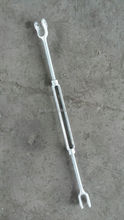 HOT DIG GAL US TYPE DROP FORGED FRAME TYPE MARINE CONSTRUCTION STANDARD TURNBUCKLE WITH JAW JAW RIGGING HARDWARE