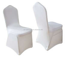 wholesale universal plain polyester spandex wedding chair covers