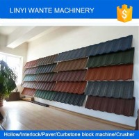 2015 Trade Assurance colorful stone-coated metal roofing tiles,stone coated metal roof tile