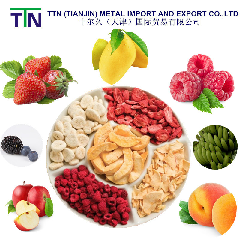 TTN 2016 New Freeze Dried Food Fruit Dried Fruit Chips