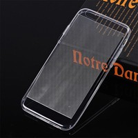 For Apple iPhone 6 Wire Drawing TPU Transparent Soft Phone Case
