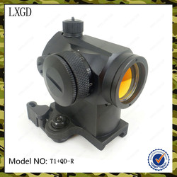 T1-QD-R,Tactical Holographic Red Dot Picatinny 20mm QD Rail Mount red dot sights