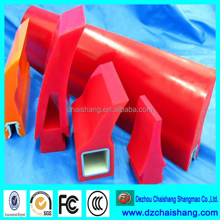 Urethane Transportation Belt Cleaner Blade for Mining rubber conveyor belt
