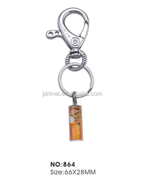 water drop buckle key chains/professional custom key chain manufacturer in China