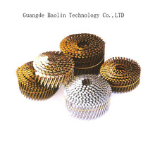 Producting hot sell galvanized coil nails