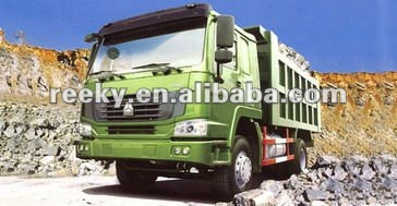 SINO 6 wheeler sand transport light dump truck 4T
