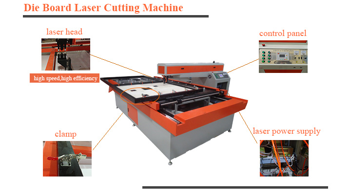 Hasary Keypad control wood die cutting laser cut machine die board laser cutting machine