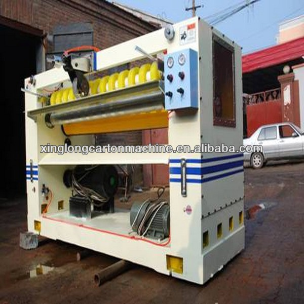 Corrugated cardboard NC cutt off, carton making machine