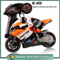 2015 New Arrival Remote controls toys 2.4G 1:10 scale rc motorcycle