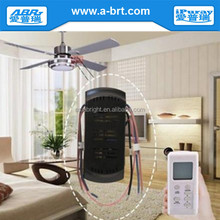 Ceiling fan speed remote control switch with LCD display