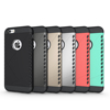 free sample hot selling design Hybrid Shockproof Heavy Duty Hard&Soft Rugged Rubber cell phone Case Cover For iPhone 6/6+