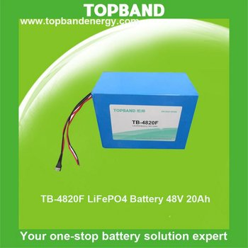 High capacity 48v 20a battery for electric motor bicycle