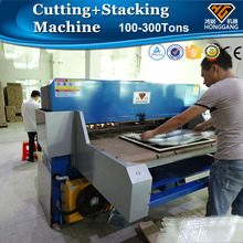 HG-B100T automatic flocking inner tray cutting press machine