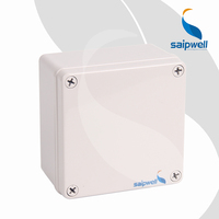 120*120*75mm ABS Waterproof Electrical Control/Switch Box Rectangular Plastic Box