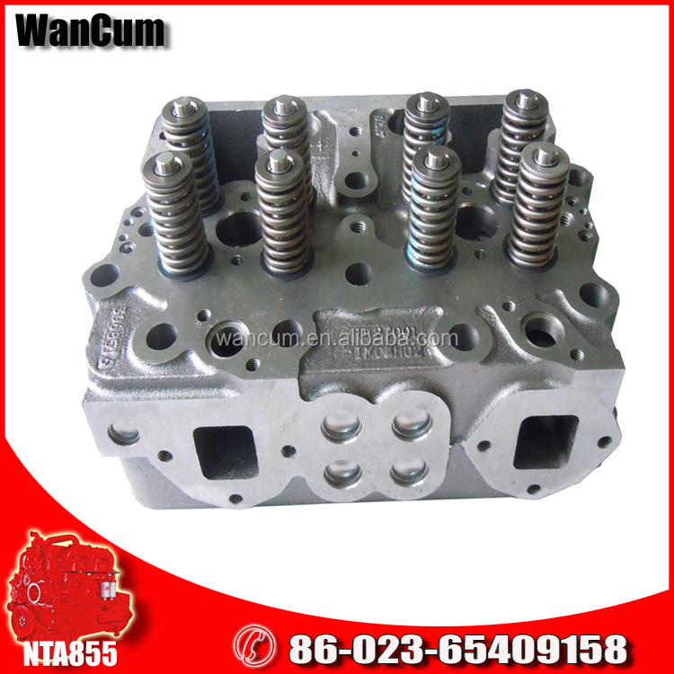 Good Quality NT855 Diesel Engine Parts Cylinder Head 4915267