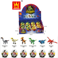 WANGE 2016 best selling dinosaurs legendary building blocks toys