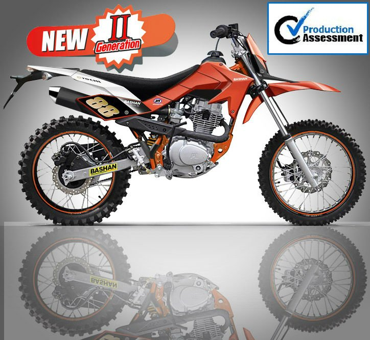 2015 Hot Sell Bashan125cc mini dirt bike new design BS125-46A