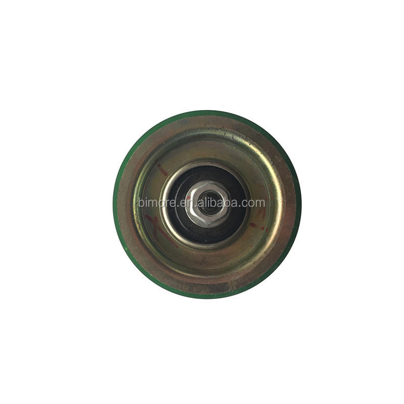 KM86226G01 D85x19mm BIMORE Lift door hanger roller for Kone with <strong>axle</strong> <strong>bearing</strong> 6203