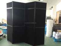 fabric Black exhibition display panel
