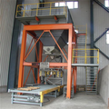 0.5-2ton screw feeding bulk bag packer for powder