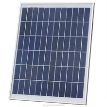 Low Price 20W 18V Polycrystalline silicon Solar Panel used for 12V photovoltaic power home system