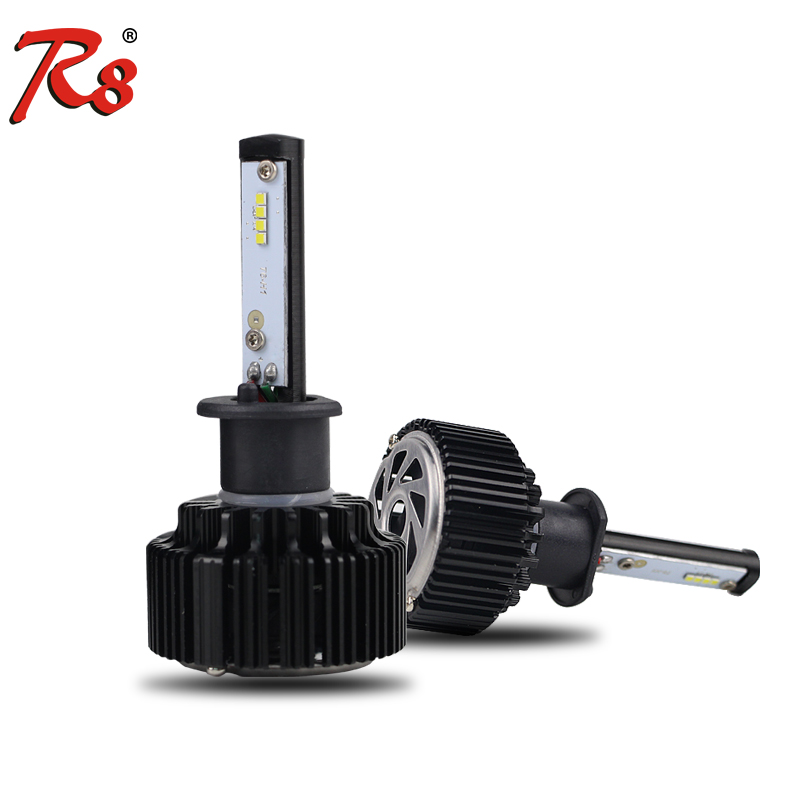 30W 4000LM Turbo LED headlight lighting depo auto lamp H1 LED car light for auto parts