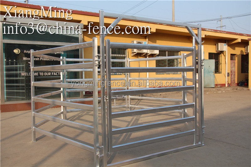 high quality galvanized cattle hurdle / cattle feeder / siding gates