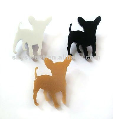 Dog Acrylic Earrings ,Basketball Wives Earrings (SWTERBC643)