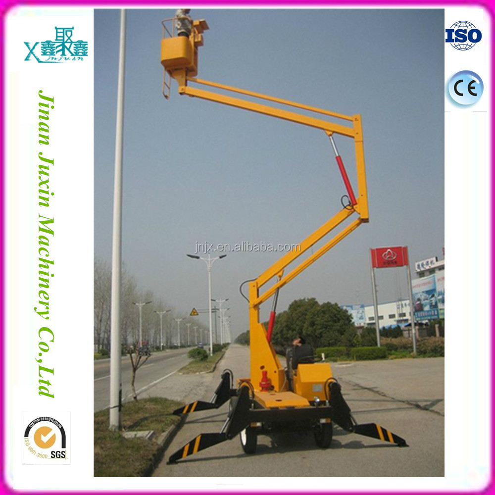 Hydraulic boom lift /mobile articulated crank arm lift platform