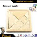 Tangram Montessori Educational Toys Wooden Assemble Puzzle Jigsaw Wood Board Game Kids Wooden Toys Brain Teaser