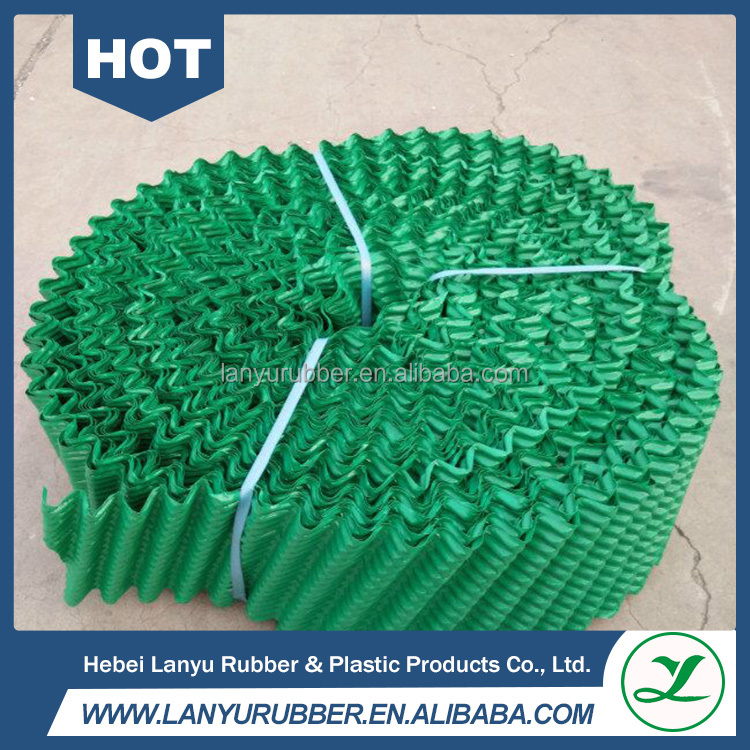 Round pvc cooling tower fills/pvc sheets/cooling tower pvc infill