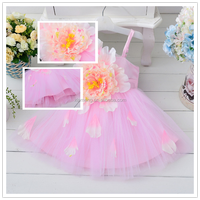 Cute Flower Style One Shoulder Flower Girls Formal Dress Fashion Girl