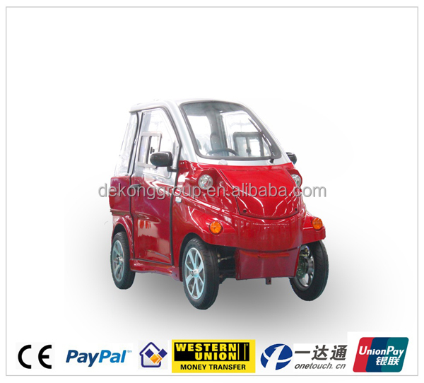 EEC approved electric two seater mini cars