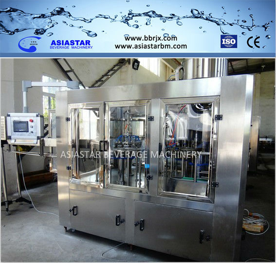 6000BPH Pure water mineral water bottle manufacturing plant