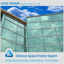 High Standard Curtain Wall System With Tempered Glass Cladding