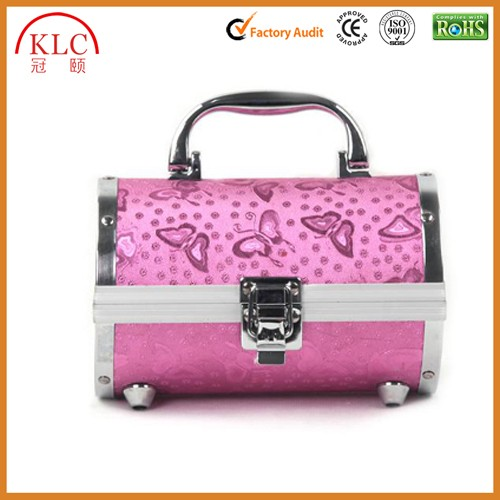 High Level Aluminum Cosmetic Case Vanity Box for Makeup