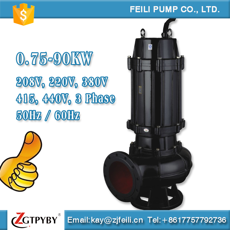 heavy duty dewatering pumps for water treatment septic tank sewage