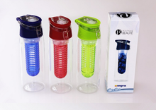 BPA Free Private Label Sports Filtered Water Bottle With Fruit Infuser