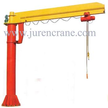 BZD model floor mounted jib crane