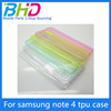 SHENZHEN BHD for samsung note 4 tpu Case silicon rubber case