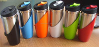 fashion style stainless steel coffee cup , portable stainless coffee water cup mug