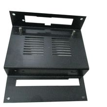 OEM black anodized custom aluminium extrusion box price